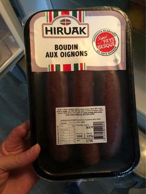 Boudin aux oignons - Product