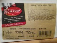 Metka Petite Sous Filet - Product