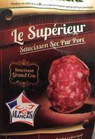 Saucisson sec pur porc - Product - fr