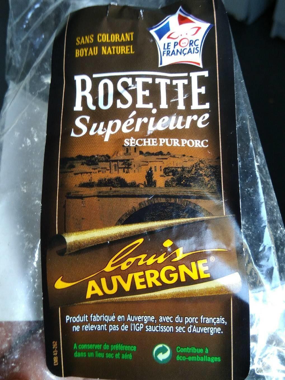 Rosette supérieur pur porc - Produit