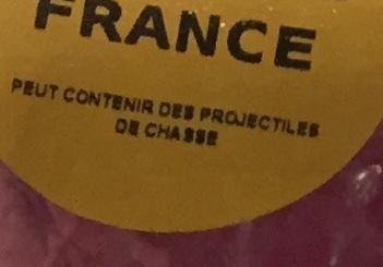 Cuissot de Chevreuil sans Crosse - Ingrédients - fr