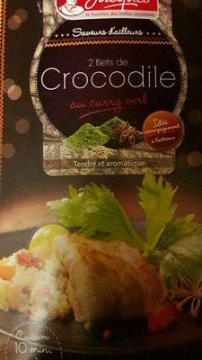 Filets de crocodile au curry vert - Product