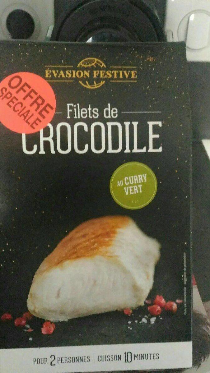 Filets de crocodile au curry vert - Produit