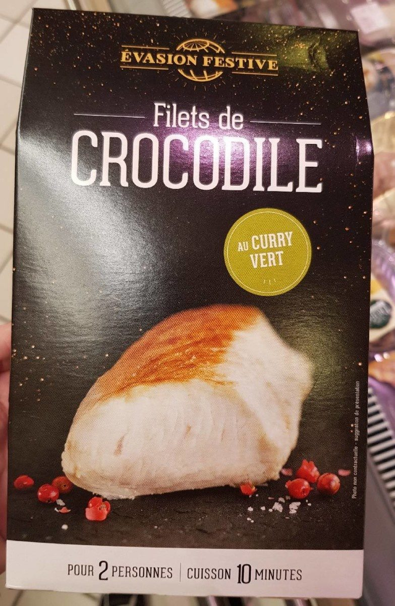 Filet de crocodile - Product - fr