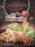 2 Filets de Crocodile marinés - Product - fr