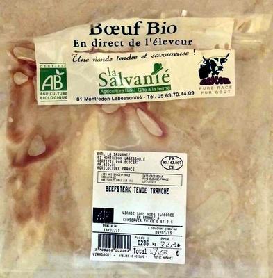Beefsteak tende tranche - Produit - fr