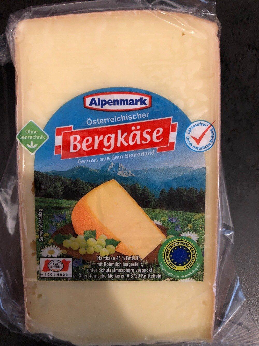 Bergkäse - Produit - de