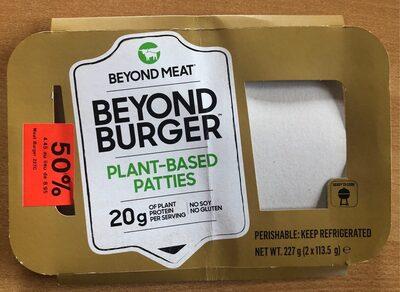 Beyond burger - Product