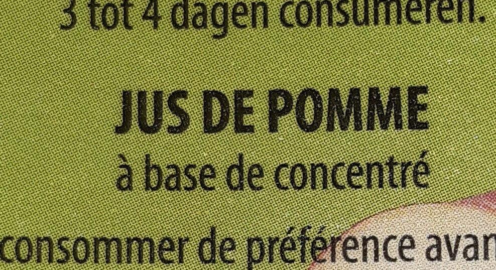 Jus De Pomme - Ingrediënten - fr
