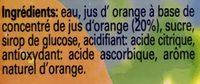 Jus pomme cerises Nono - Ingredienti - fr