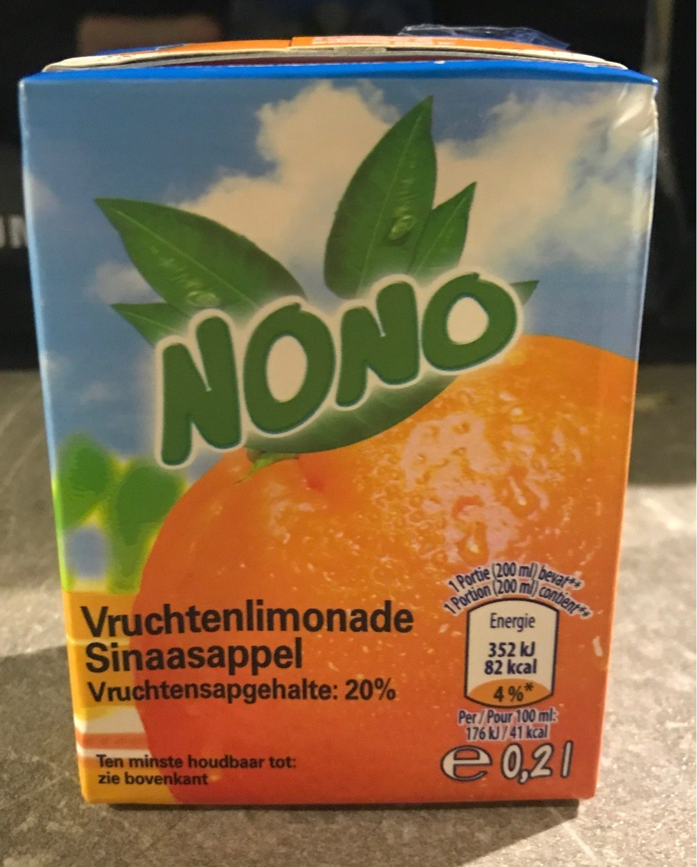 Jus pomme cerises Nono - Voedingswaarden - fr