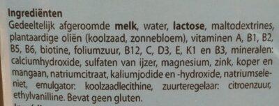 Lait de croissance - Ingrediënten - nl