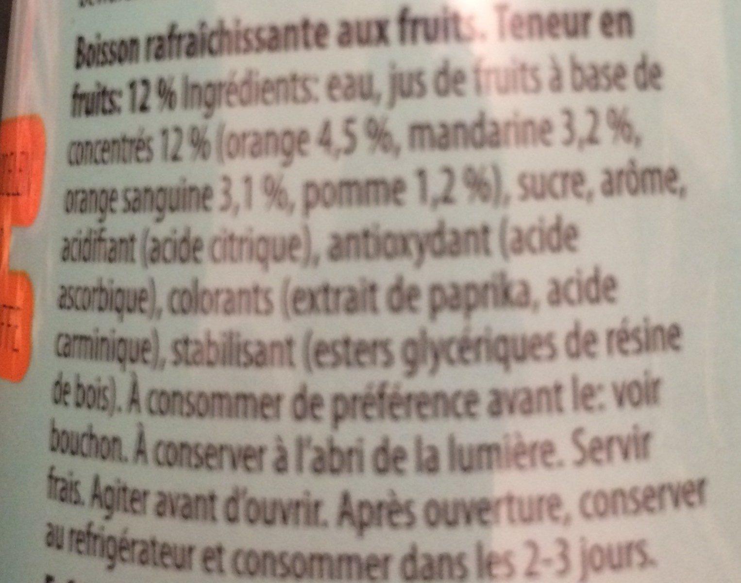 Tropical 6 Flesjes x 50 CL (nono) - Ingrediënten