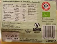 Bio Bergkäse - Product - de