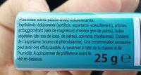 Mints peppermint - Ingredients - fr