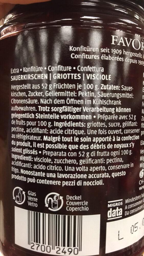 Fruits de luxe - Ingrédients - fr