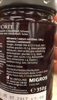 Fruits de luxe - Informations nutritionnelles - fr