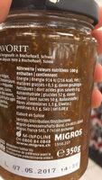 les spécialités Figues - Informations nutritionnelles - fr