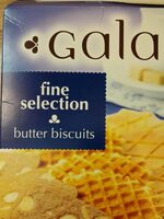 Butter biscuits - Produit