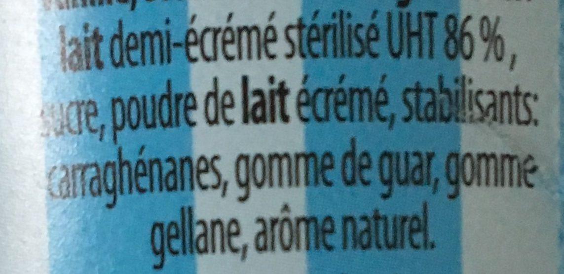 Milk Shake - Ingrediënten
