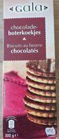 Biscuit au beurre chocolatés - Product - fr