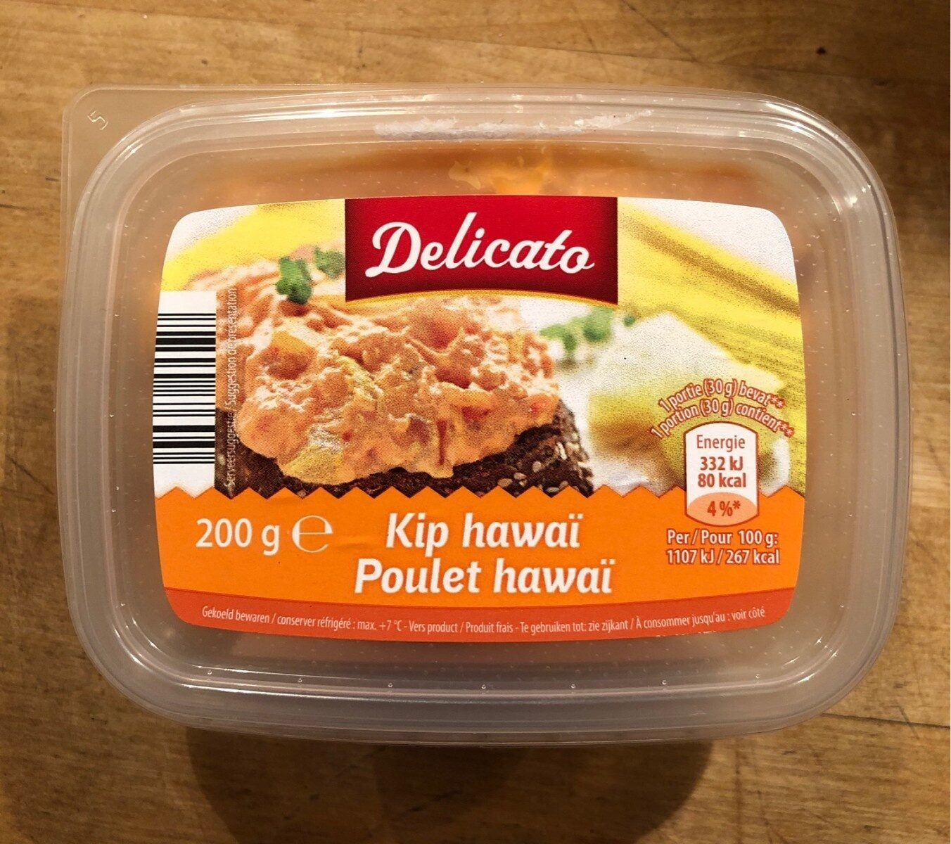 Poulet hawaï - Product - fr