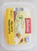 Poulet curry - Produit - fr