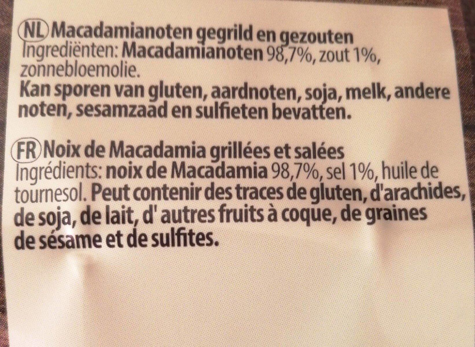 Noix de pécan - Ingrediënten - fr