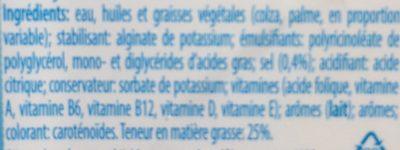 Buttella Light plus - Ingrediënten - fr