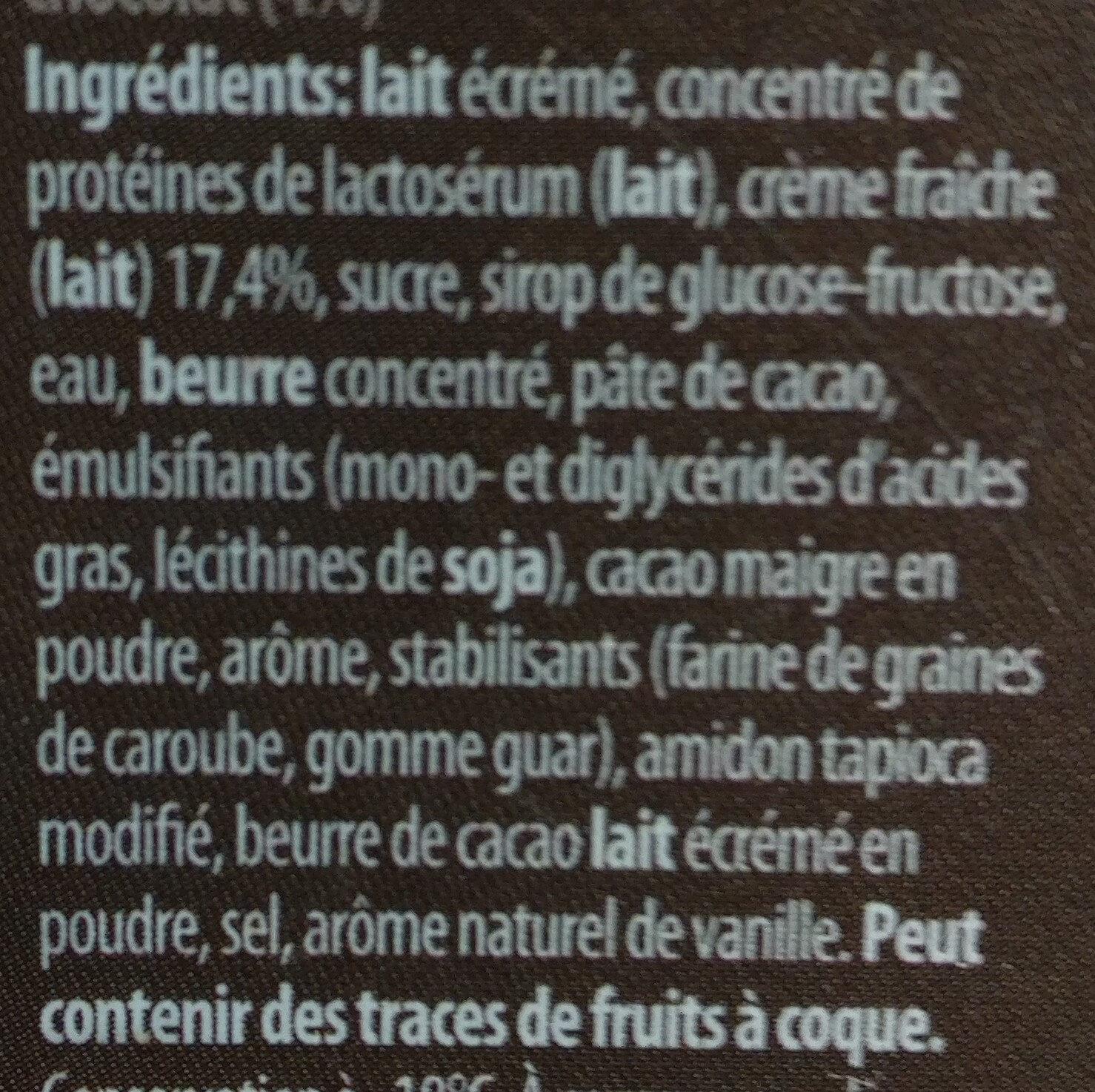 Stracciatella - Ingredients