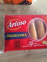 Madeleines emballage individuel 12x1 pièces - Product - fr