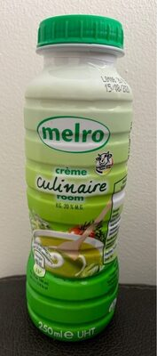 Crème Culinaire 250ml - Product