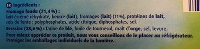 Les croquins - Ingrediënten - fr