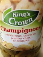 Champignons Premier Choix en Tranches - Product