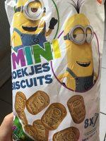 Mini biscuits Minions - Produit