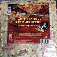 Tarte Flambée Flammekueche aux Lardons et Oignons - Product - fr