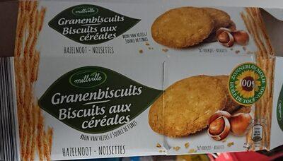 Biscuits aux céréales - Noisettes - Product
