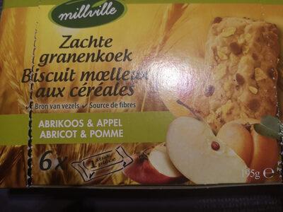 Biscuit moelleux aux céréales fuits des bois - Product