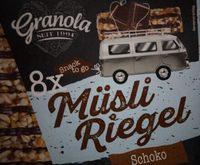 Granola Müsli Riegel Schoko - Produit