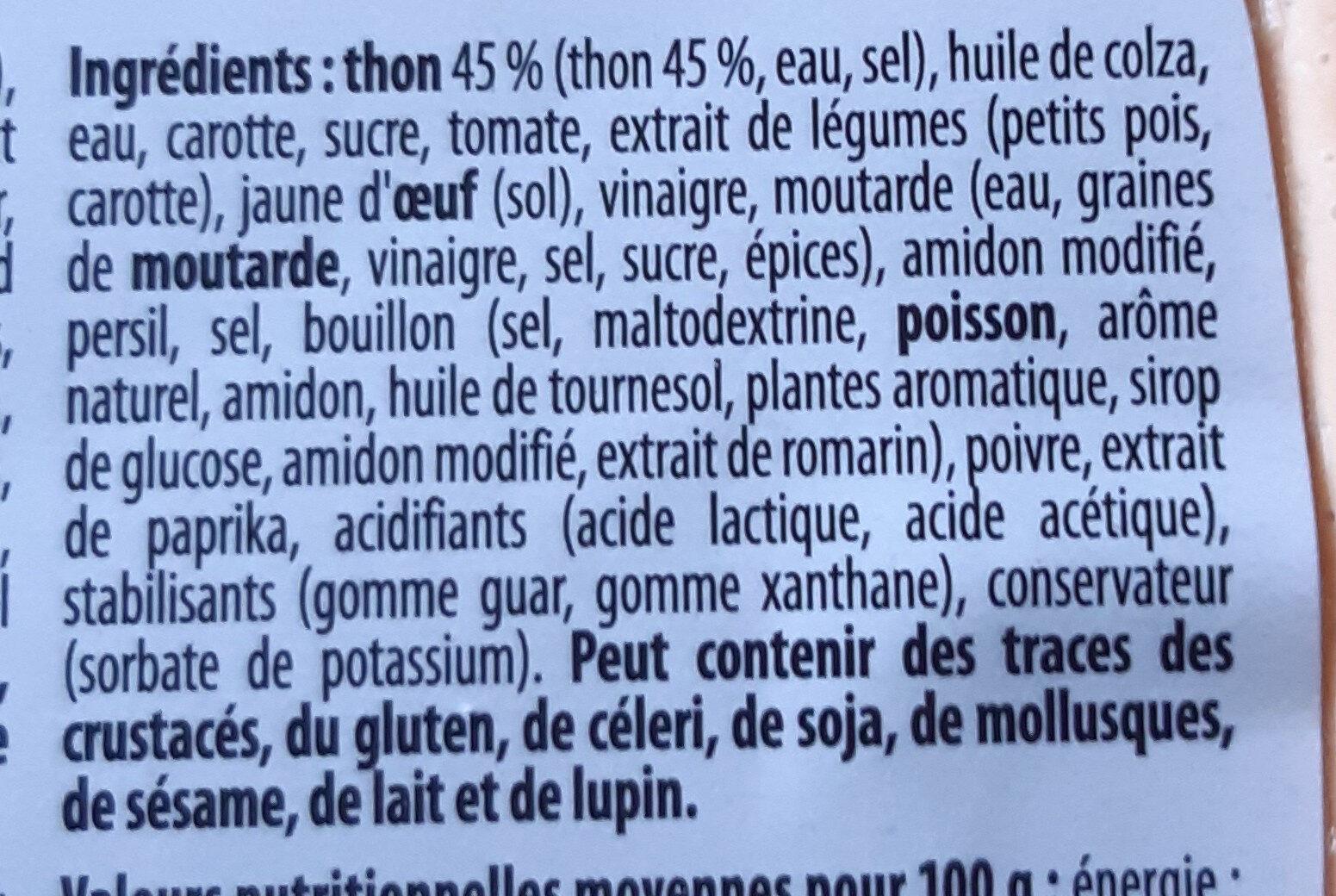 Thon cocktail - Ingrédients - fr