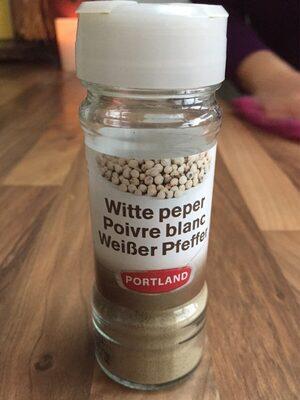 Poivre blanc - Product