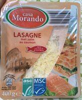 Lasagne saumon - Product - fr