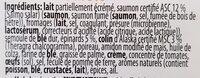 Lasagne saumon - Ingrediënten - fr
