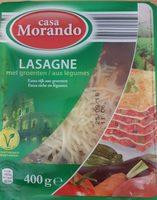 Lasagnes aux légumes - Product - fr
