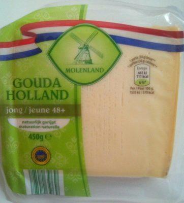 Gouda jeune 48+ - Ingredients - fr