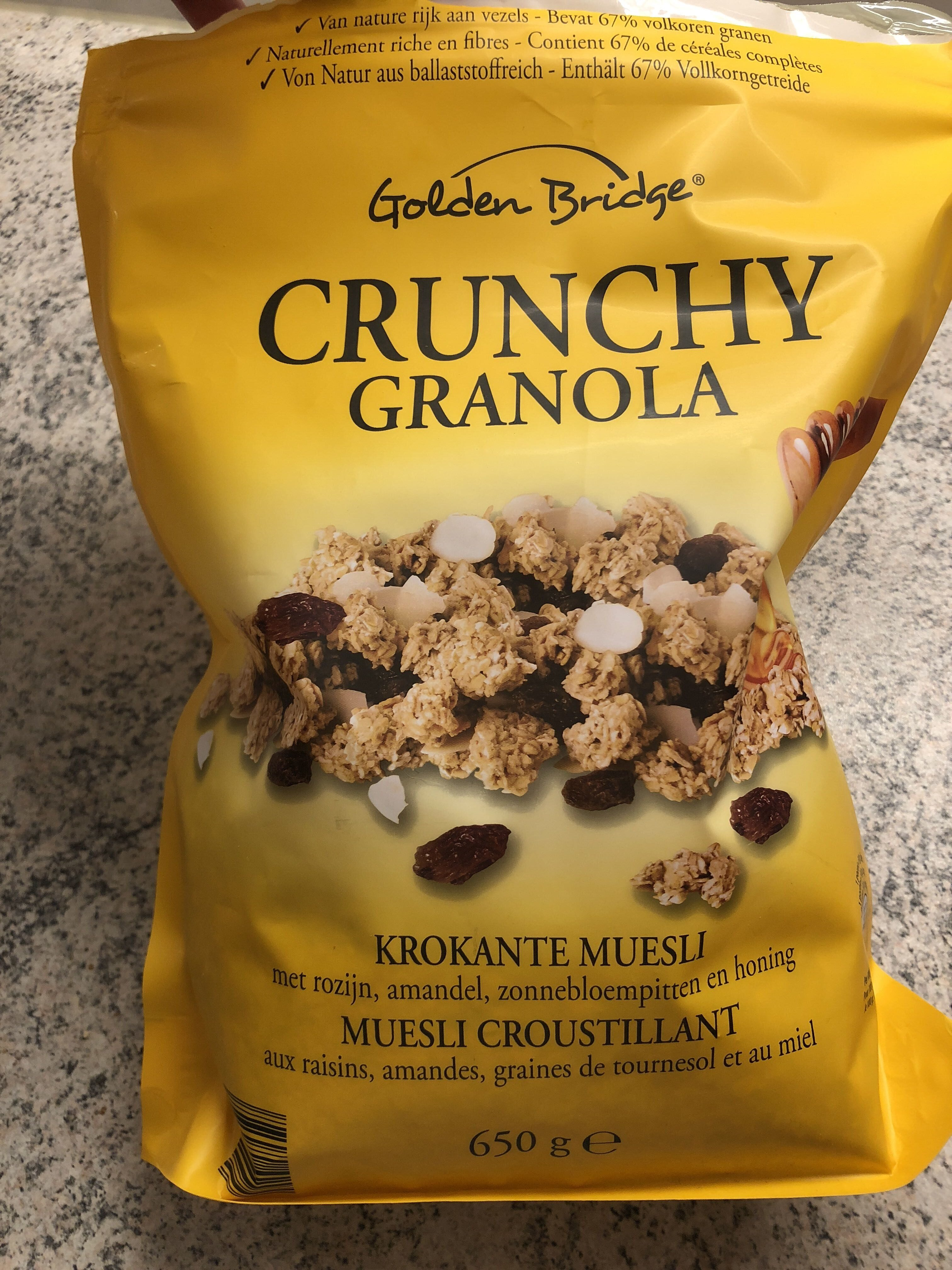 Crunchy granola - Produit - fr