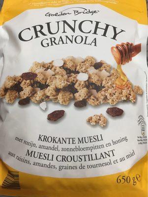 Crunchy Granola - Meusli Croustillant - Produto
