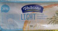 Valblanc - Informations nutritionnelles - fr
