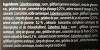 Cuberdon mix - Ingrédients - fr