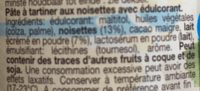 Delinut Light - Ingredients - fr